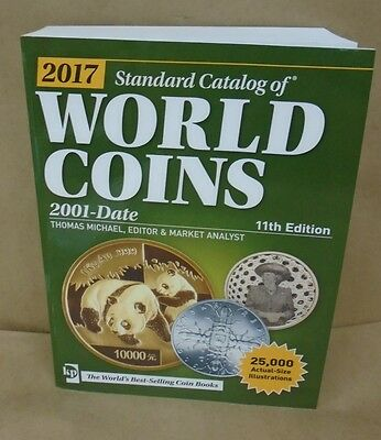 2017 Krause Standard Catalog of World Coins 2001 - Date 11th edition