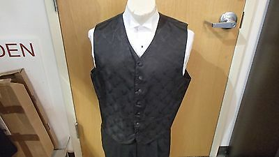 Men's Versailles Formal Vest, Brandon Michael, Black