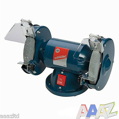 Silverline Bench Grinder 200W grinding polishing sharpening Tool 3 year warranty