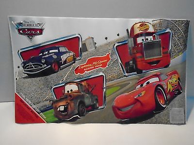 """DISNEY'S """"CARS"""" WALL STICK UPS/DECALS REMOVABLE ... NEW+ Free Shipping"""
