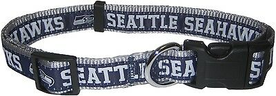 NFL DOG COLLAR. Durable, Adjustable, Licensed, NEW! 32 Teams, 4 Sizes available!