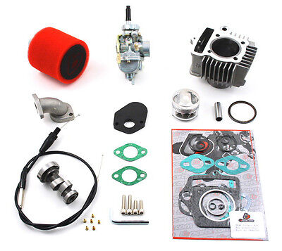 Honda XR70 CRF70 1994-2012 88cc Bore Kit, 20mm Carb Kit & Cam For Stock Head !!