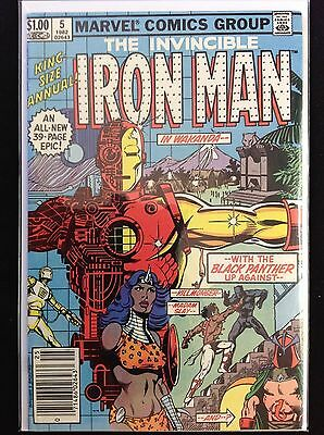IRON MAN Annual #5 Lot of 1 Marvel Comic Book - High Grade!