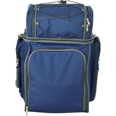 WANDERER 4 Person Deluxe Wheeled Picnic Bag