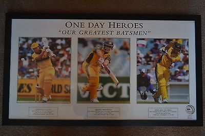 CRICKET Dean Jones Michael Bevan Adam Gilchrist, One Day Heroes, Our Greatest