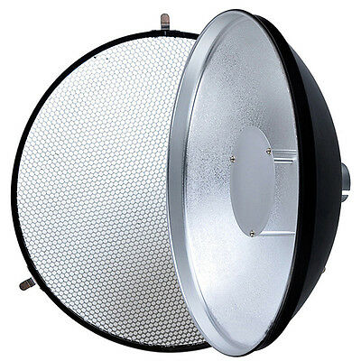 Godox AD-S3 Beauty Dish with Grid for WITSTRO Speedlite Flash AD180 AD360 Light