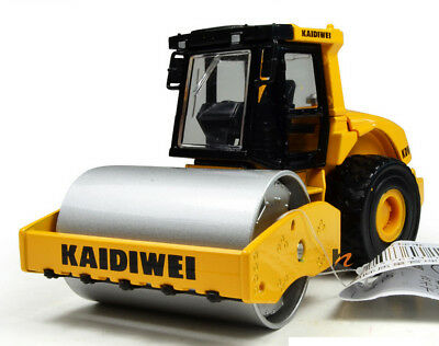 Drum Compactor Roller 1:50 Construction Vehicles Diecast Model Car Toy