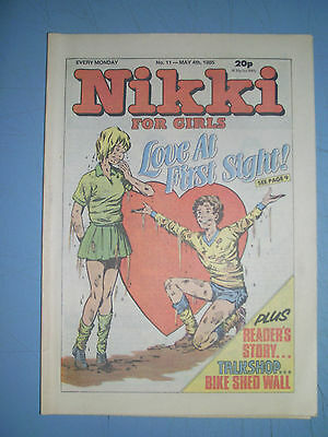 Nikki issue 11 dated May 4 1985