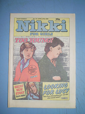 Nikki issue 10 dated April 27 1985