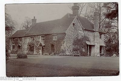 Suffolk, Near Ipswich, Claydon, Old House, 1911, Rp