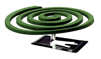 Coleman Mosquito Coil - Each pack contains 10 coils & 2 Metal Stands
