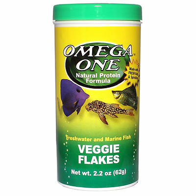 Omega One Veggie Flakes 62g