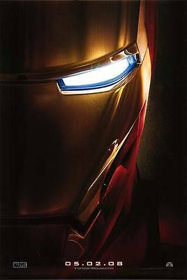Iron Man Advance Original Movie Poster Double Sided 27x40
