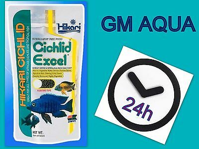 HIKARI Cichlid Excel  57g ,250g * Tropical Fish Food* MEDIUM Pellets