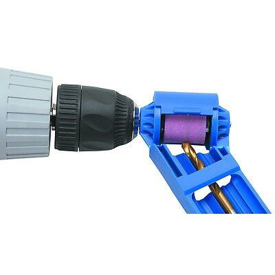 """New Drill Bit Sharpener 5/64"""" to 1/2""""  - Uses your Drill Free US Shipping"""