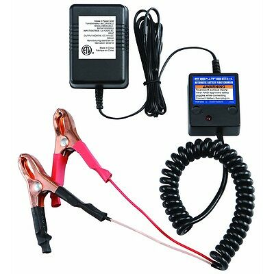New 12v Volt Automatic Car Battery Float Trickle Charger Us Seller Free Shipping