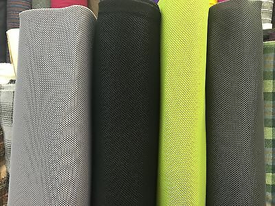 "Spacer Fabric Hexagon Mesh 100% Polyester 65"" Wide 500gsm 4mm Thick Superior"
