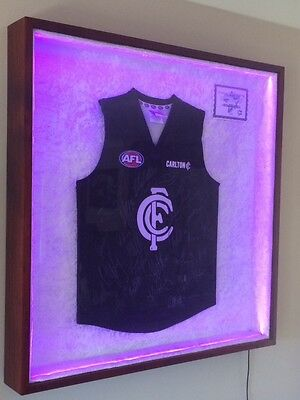 Jersey Display Case With Remote Led Lighting (Jersey NOT INCLUDED)