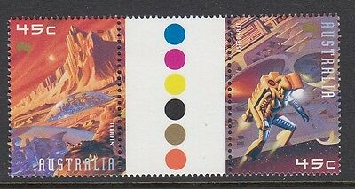 Australia 2000 Space Gutter Pair (2035-6GP)