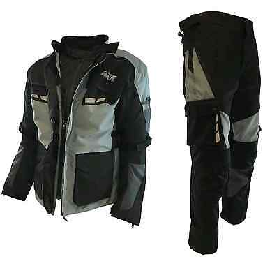 MKR ADV-Pro 3 Layer Adventure Touring Enduro Jacket & Trousers Kit Suit Package