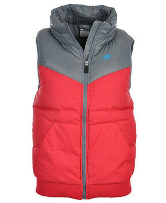 Nike Women's Running Jacket Runner Down Vest Gilet - GREY/PINK