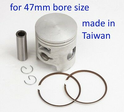 Piston kit for bore size 47mm Kymco Super 9 50cc 2T  scooter moped engine