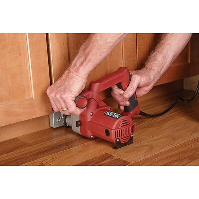 "3-3/8"" Blade Toe Kick Saw Remove flooring under cabinets without removing them"
