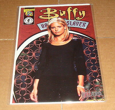 1999 Buffy The Vampire Slayer 1/2 Wizard Exclusive w/COA Dark Horse