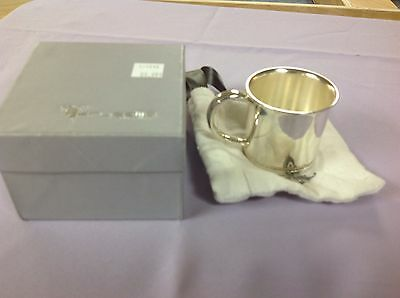 Krysaliis Silver Plated Baby Cup  Beaded