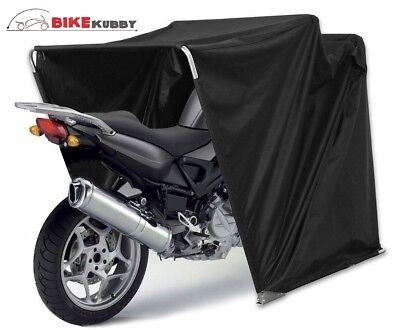 Waterproof Motor Bike Motorcycle Garage Shelter Cover Shed Powdercoat Frame SYD