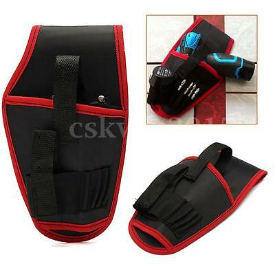 Heavy Duty Drill Holster Storage Holder Pouch Belt Universal Waterproof Tool Bag