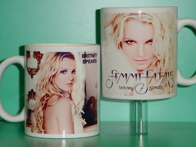 BRITNEY SPEARS - Femme Fatale Tour - with 2 Photos - Collectible GIFT Mug 05