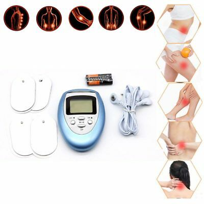 Digital Full Body Pain Relief Tens Therapy Machine Muscle Massager w/ Battery UK