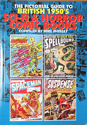 British 1950's SF & Horror Comics Book By MIKE MORLEY.