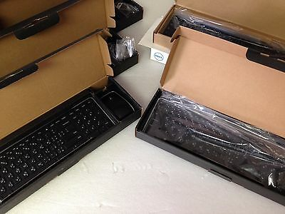 Job Lot 5x DELL KM714 USB Wireless Keyboard Mouse Bundle Various Country Layout