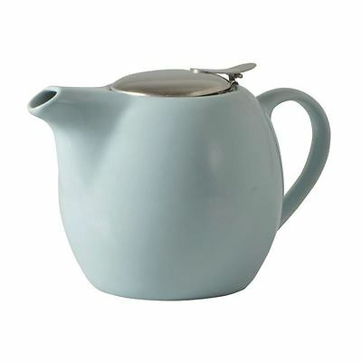 Avanti - Camelia Duck Egg Blue Ceramic Tea Pot with Stainless Steel Lid and Infu