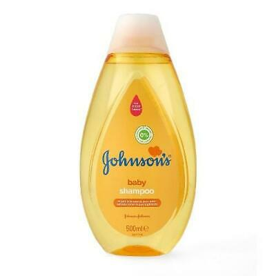 JOHNSONS Baby Shampoo Yellow 500 ml - 6 Pack