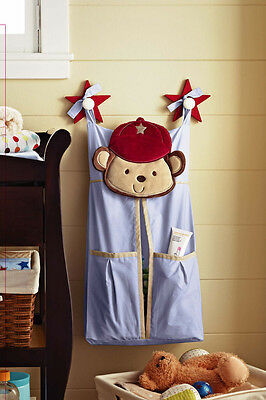 Premium Embroidered Nursery Diaper Nappy Stacker - Brand NEW