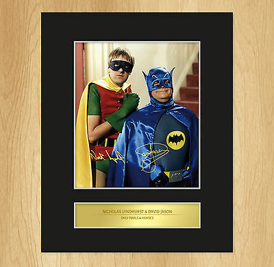 Only Fools And Horses Signed Mounted Photo Display Batman And Robin