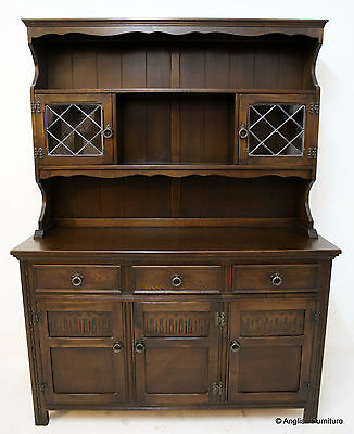 Oak Welsh Dresser Old Charm Style FREE Nationwide Delivery