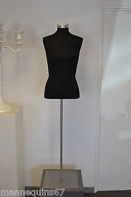 Mannequin Buste Adolescent Vetement Vitrine Haute Couture Made In France