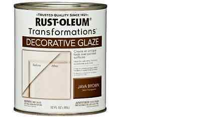 Rust Oleum 1 Quart Java Brown Cabinet And Countertop Decorative Glaze Case Of 2