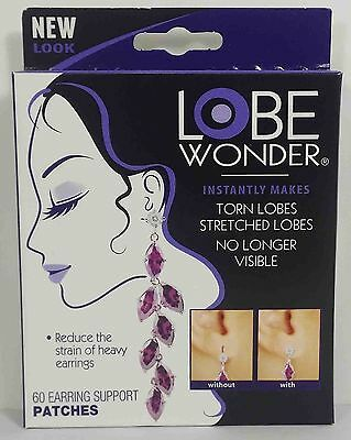 (60Pcs) Lobe Wonder Earring Support Patches