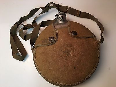 Early Official Boy Scout Canteen with Felt Cover