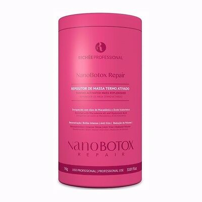 NANOBOTOX REPAIR by RICHEE PROFESSIONAL 1Kg THERMO ACTIVATED MASS REPLENISHER