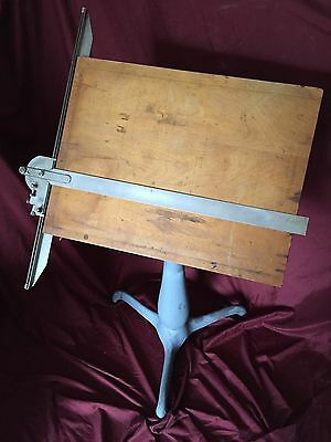 Antique Cast Iron Drafting Table