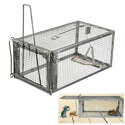 Sensetive Rodent Control Rat Cage Mouse Live Hunting Trap Retro Fashion