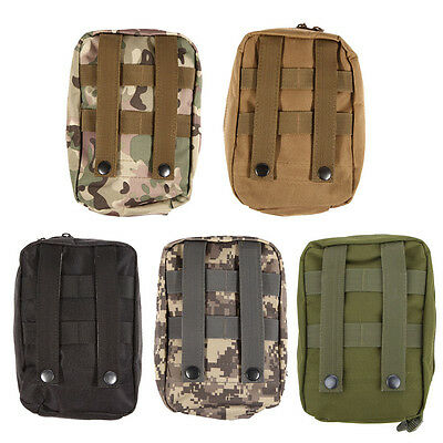 Airsoft Molle Tactical Medical Bag Military First Aid Nylon Sling Pouch Bag Case