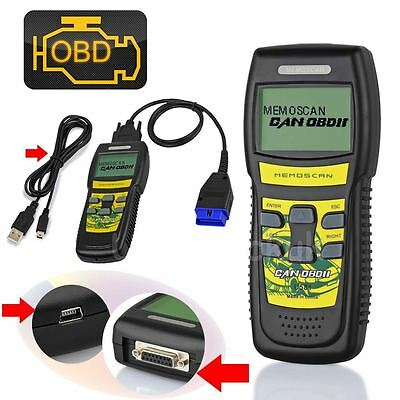U581 Car Diagnostic Scanner CAN OBD OBD2 EOBD Scan Tool Engine Fault Code Reader