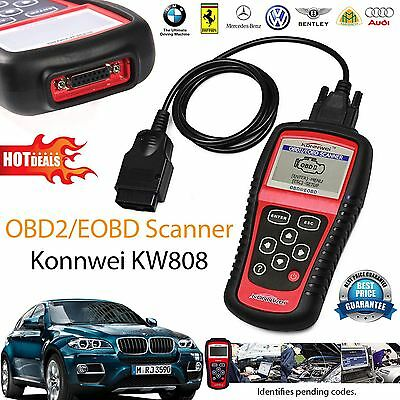 OBD2 Scanner KW808 Car Diagnostic Code Reader CAN Engine Reset Tool KONNWEI
